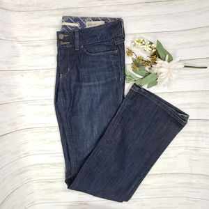 Gap mid rise bootcut jeans